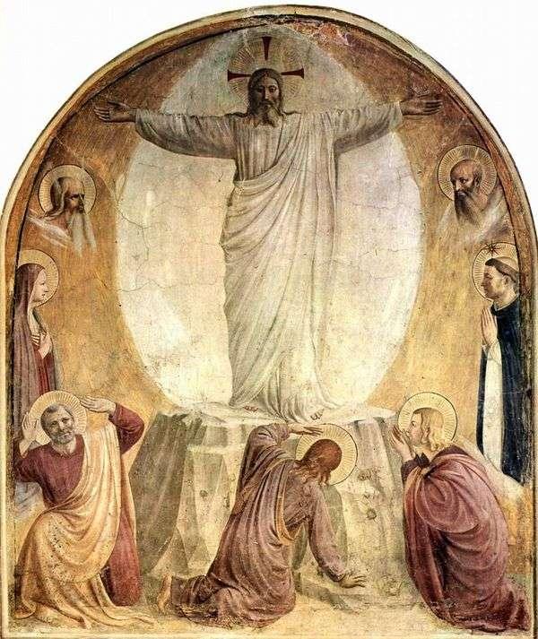 主的变形   Fra Beato Angelico