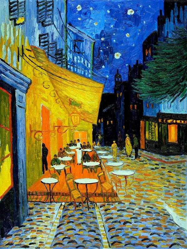 夜间露台咖啡馆   文森特梵高