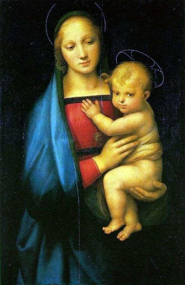 Madonna del Granduca   Rafael Santi