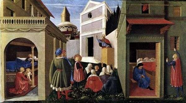 圣尼古拉斯生活场景   Fra Beato Angelico