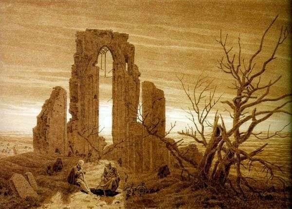 埃尔登修道院的废墟   卡斯帕大卫弗里德里希
