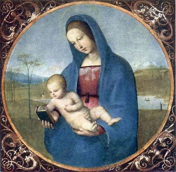 Madonna Conestabile   Rafael Santi