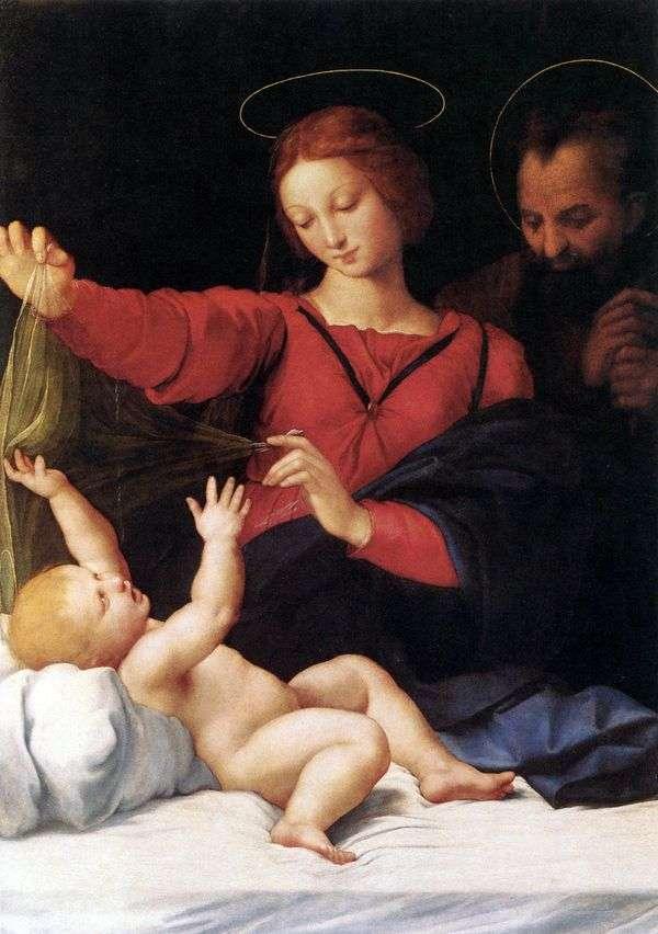 Madonna Loreta或Madonna del Velo   Rafael Santi