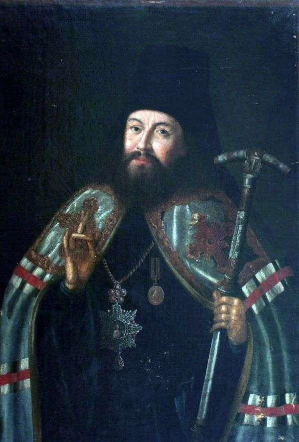 加布里埃尔 彼得罗夫大主教画像   阿列克谢 阿特罗波夫