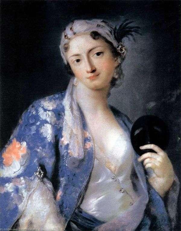 Felicita Sartori画象土耳其服装的   Rosalba Carriera
