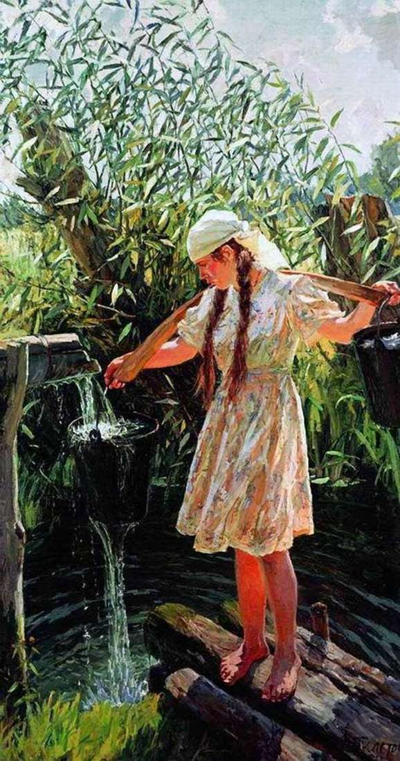 中午   Arkady Plastov