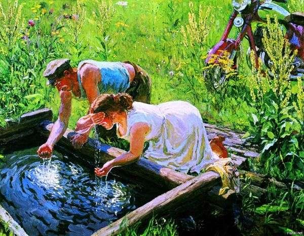 春天   Arkady Plastov