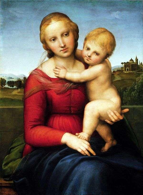 麦当娜和孩子   拉斐尔桑蒂