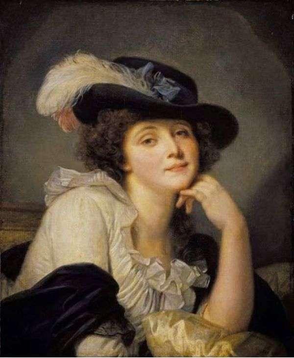 Sophie Arnue的肖像   让   巴蒂斯特的梦想