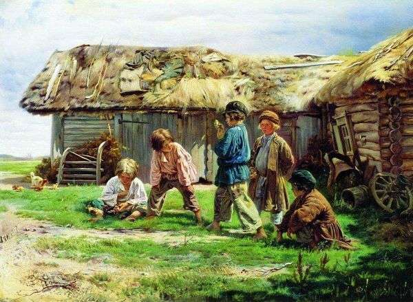 奶奶游戏   弗拉基米尔Makovsky