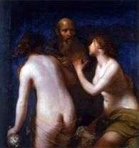 罗得和他的女儿   弗朗切斯科弗里尼