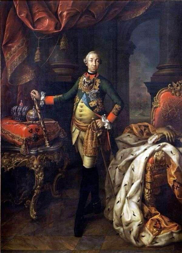 皇帝彼得三世的肖像   阿列克谢安特罗波夫