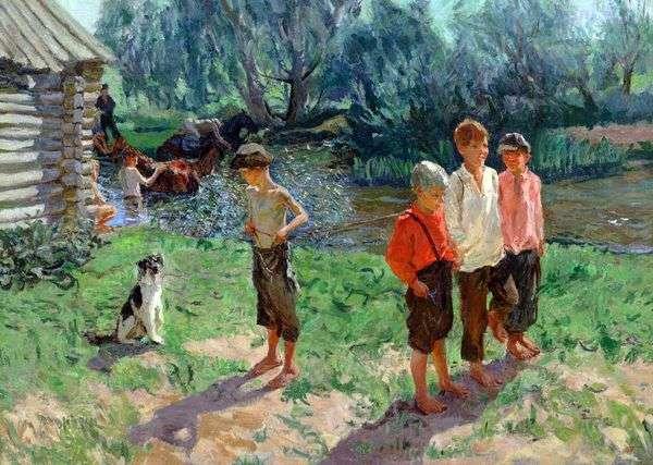 三   Arkady Plastov