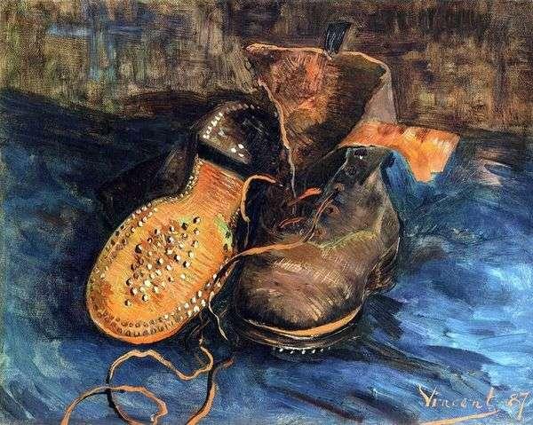 一双鞋(鞋)   文森特梵高