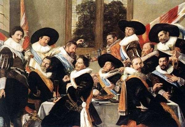 Sv。公司的官员宴会。阿德里安娜   弗兰斯哈尔斯