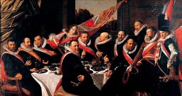 Sv。公司的官员宴会。乔治   弗兰斯哈尔斯