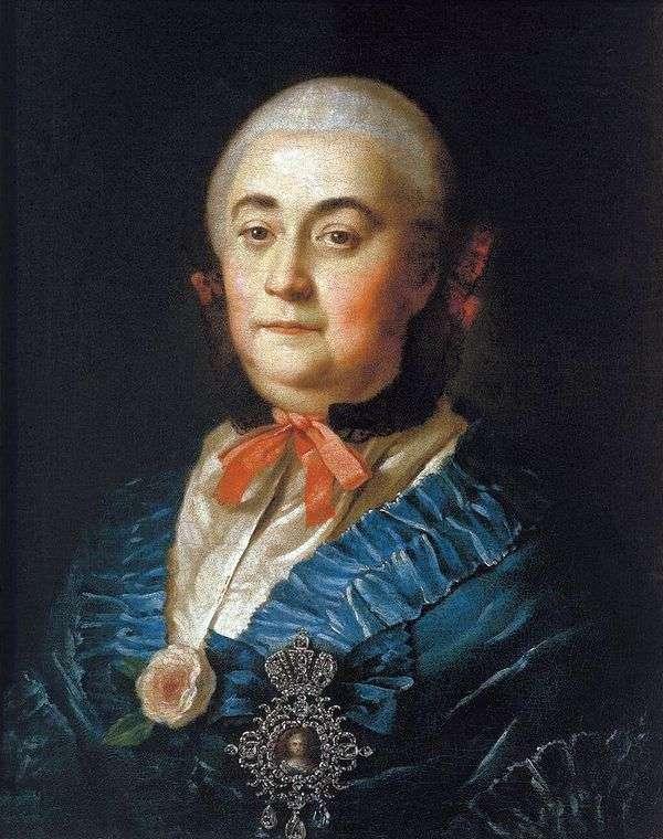 国家夫人Anastasia Izmailova   Alexey Antropov的肖像