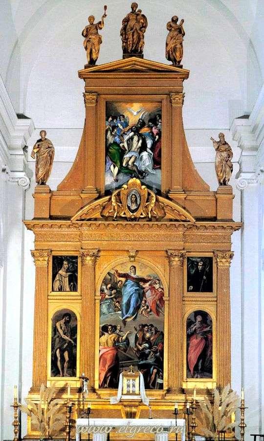 圣托里多   埃尔格列柯圣多明各教堂的祭坛
