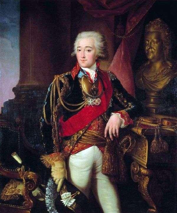 A. M. Dmitriev Mamonov的肖像   Ivan Argunov