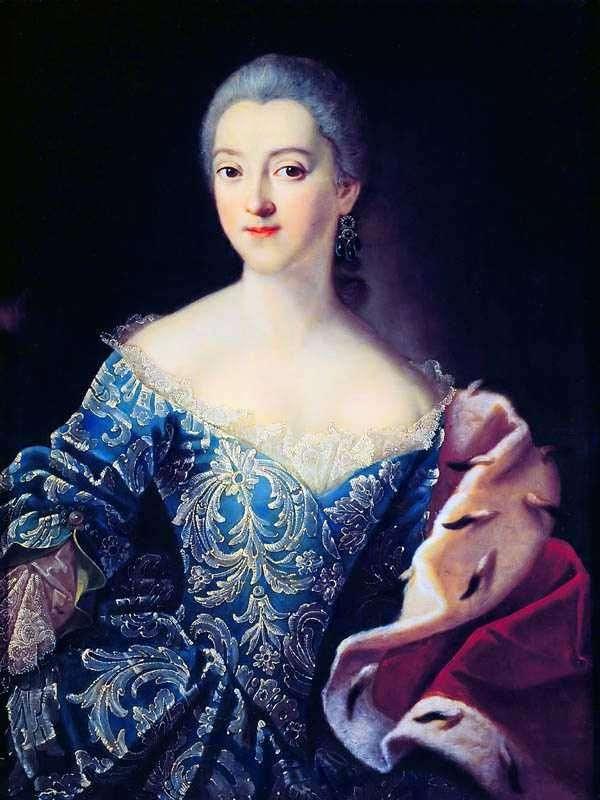 公主E. A. Lobanova Rostovskaya的肖像   伊万阿尔古诺夫