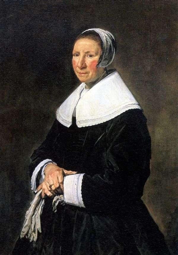女人肖像   弗兰斯哈尔斯
