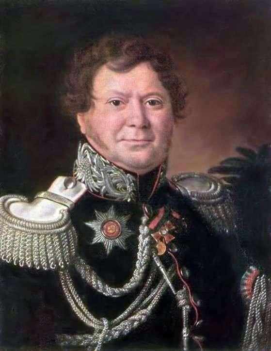 N. N. Muravyev的肖像   Ivan Argunov