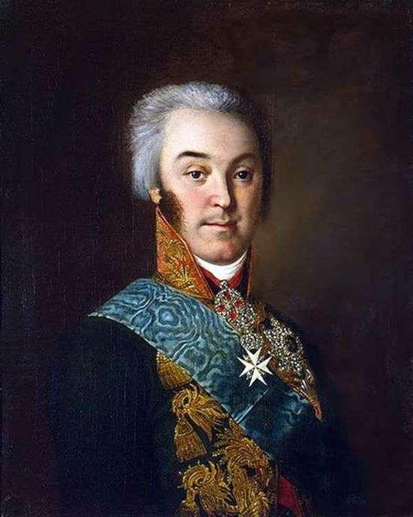 N. P. 谢列梅捷沃的肖像   伊万阿尔古诺夫