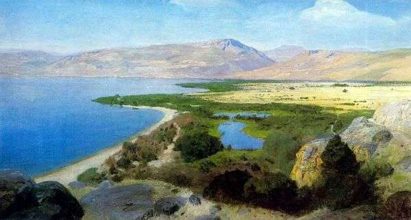 Genisaret湖   瓦西里Polenov