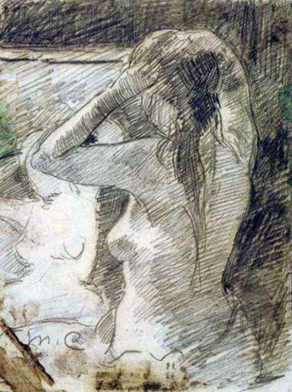 发型   Mary Cassat