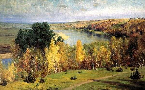 金色的秋天   瓦西里Polenov