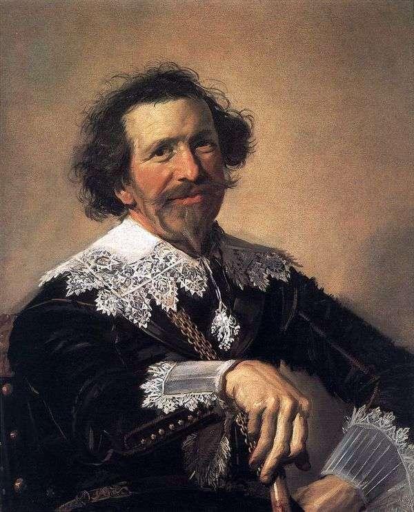 Peter van den Brock的肖像   弗兰斯哈尔斯