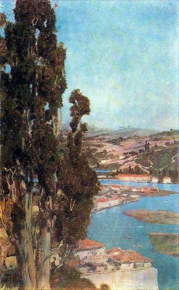 君士坦丁堡。金角   瓦西里Polenov