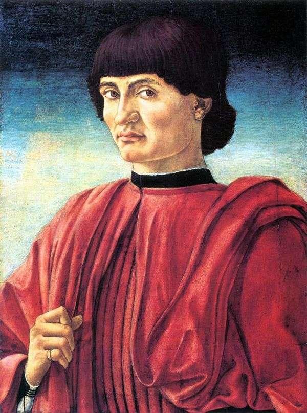 男性肖像   AndreaCastaño