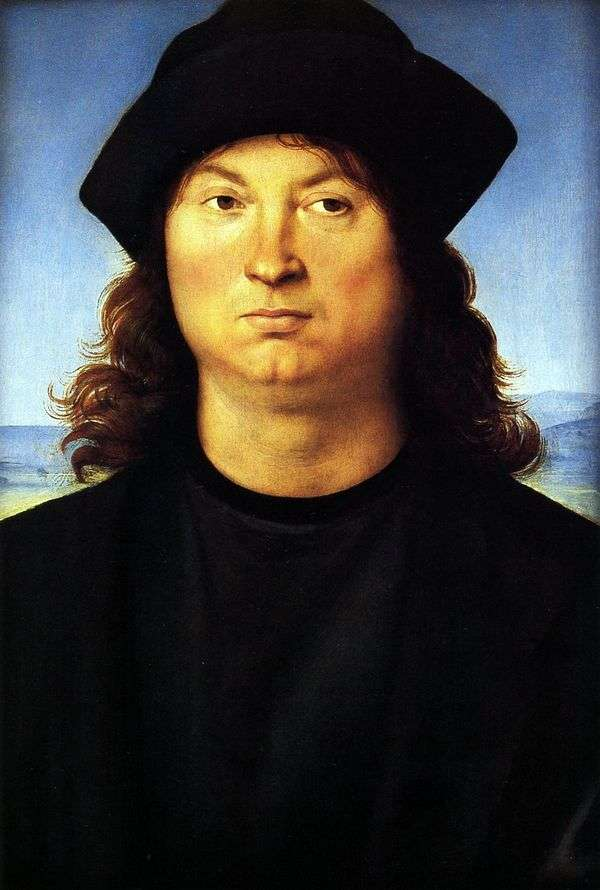 一个男人的肖像   拉斐尔桑蒂