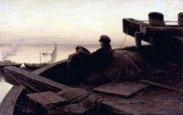 在伏尔加河   亚伯拉罕Arkhipov