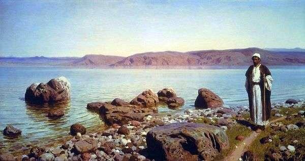 在提比里亚湖(Genisaret)   瓦西里Polenov
