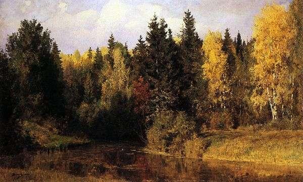 秋天在Abramtsevo   瓦西里Polenov