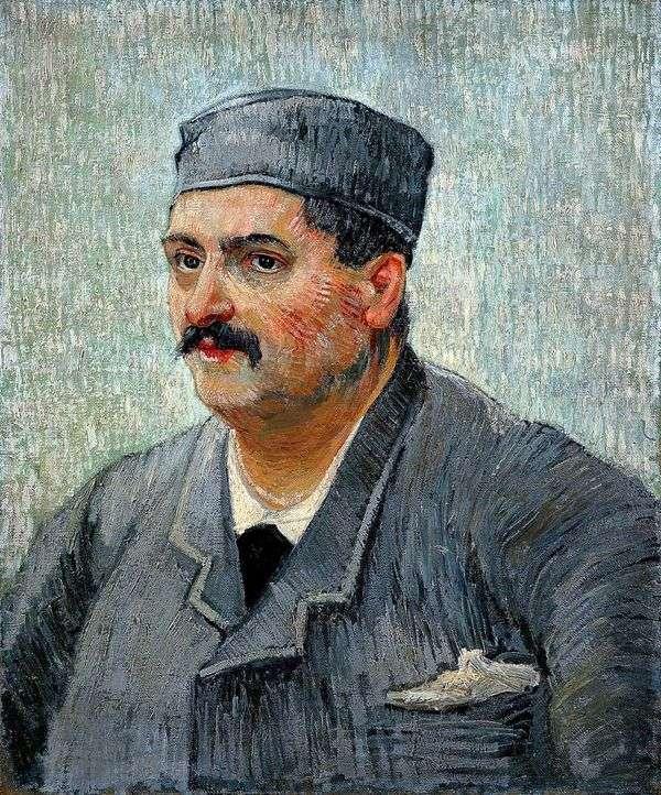餐馆老板的肖像   文森特梵高