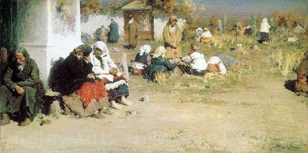 Radonitsa(晚餐前)   Abram Arkhipov