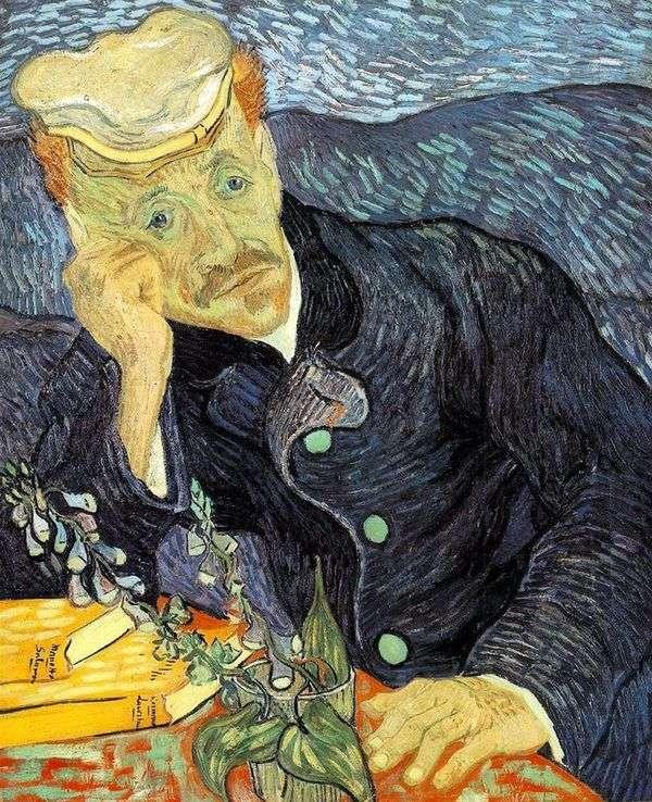 加歇博士的肖像   文森特梵高