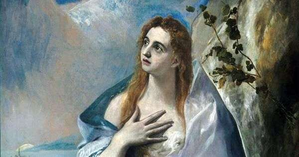 玛丽抹大拉   埃尔格列柯