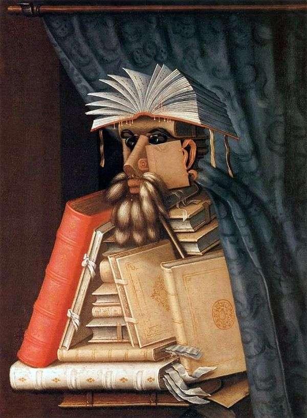图书馆员   Giuseppe Archimboldo