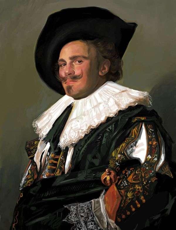 微笑的骑士   弗兰斯哈尔斯