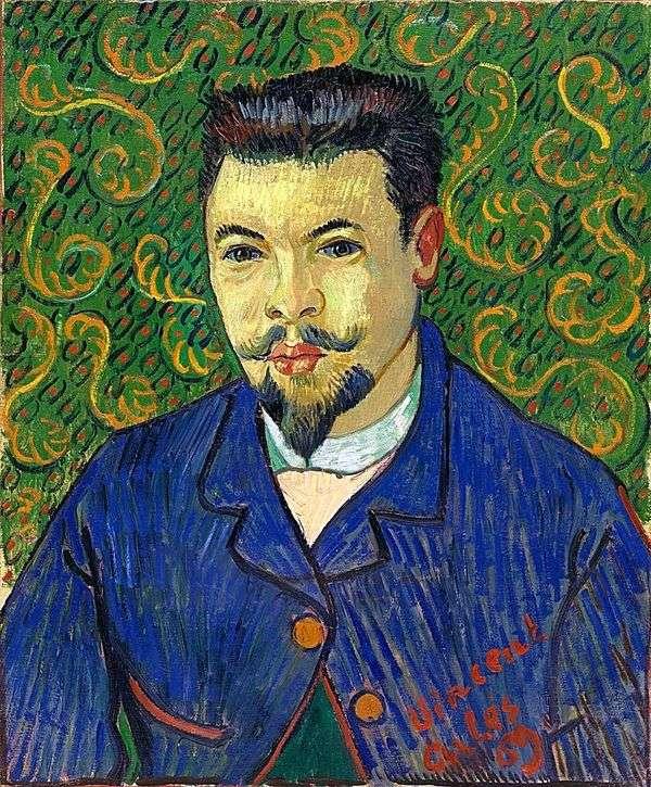 Felix Ray博士的肖像   Vincent Van Gogh