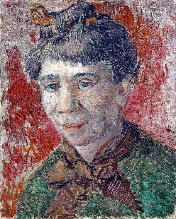 一个女人的肖像   文森特梵高