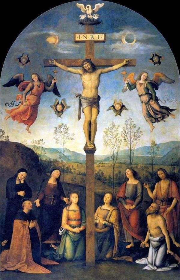 被钉十字架   拉斐尔桑蒂