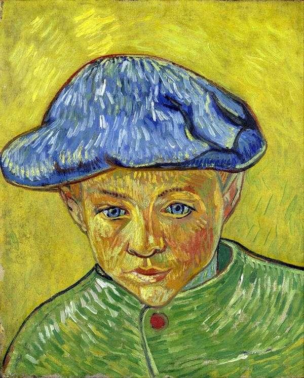 Camille Roulin的肖像   Vincent Van Gogh