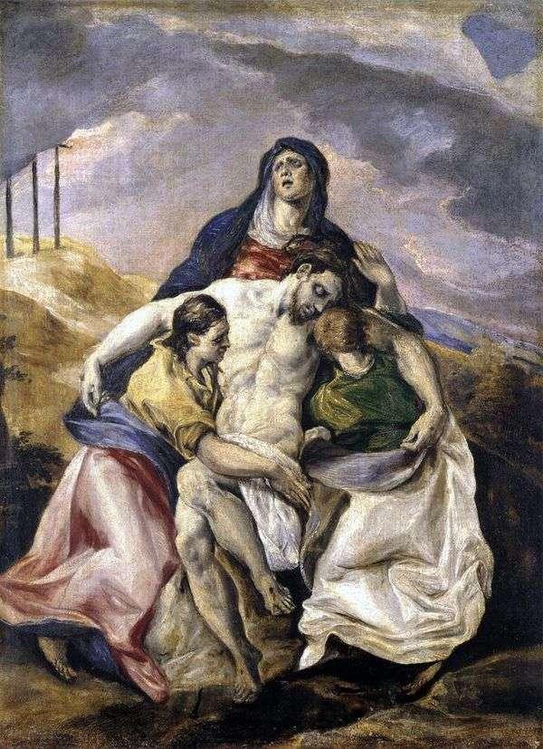 皮耶塔,或基督的哀悼   埃尔格列柯