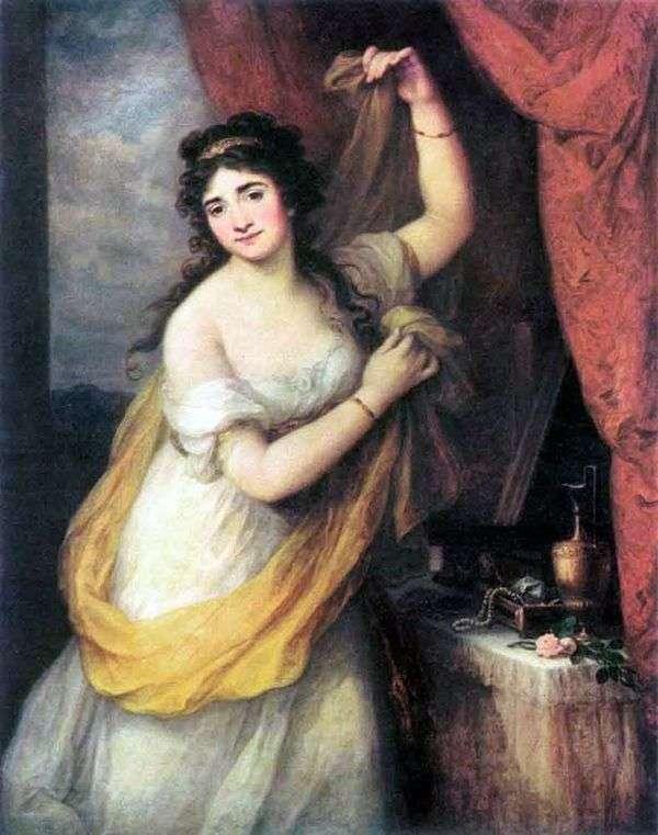 埃斯特哈齐公主   安吉丽卡考夫曼
