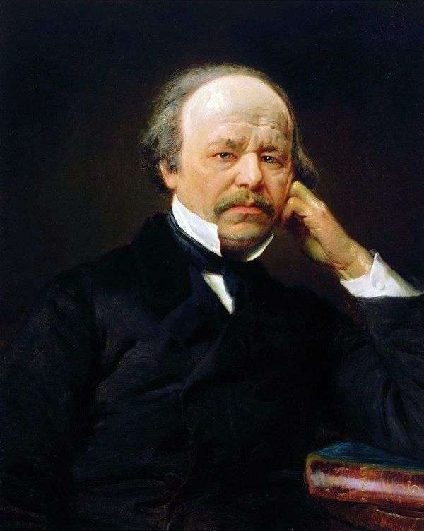 A. S. Dargomyzhsky的肖像   康斯坦丁马可夫斯基
